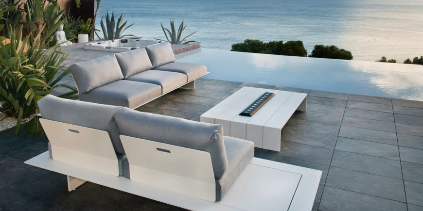 the new neverland lounge from gardenart is a suitable option for every social set up