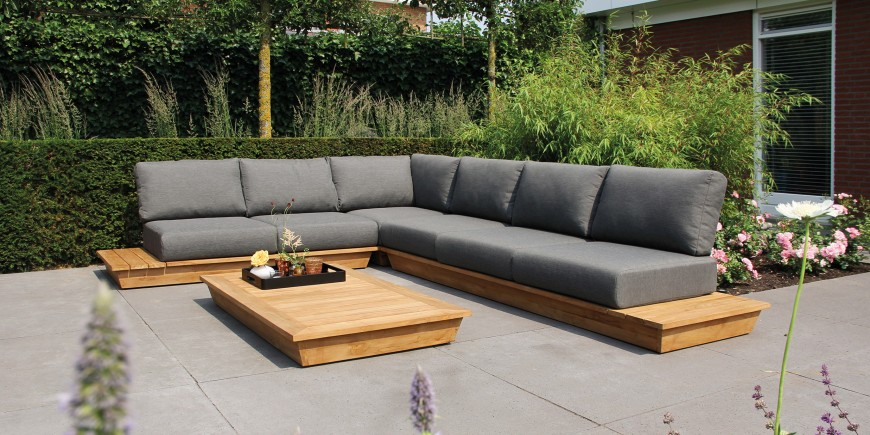 teak has made a comeback which is represented in this comfortable low lounger the suns isla lounge set